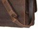 Leder Aktentasche mit 2 Fächern